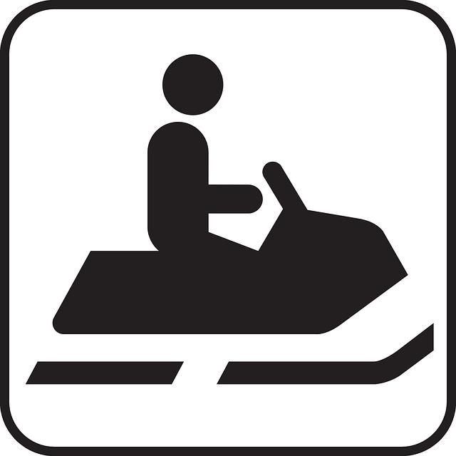 snowmobile trail logo